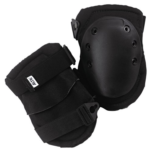 Black Rubber Superflex Knee Cap Knee Pads