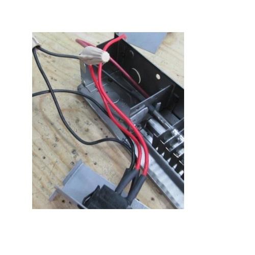 Aalux Series Baseboard Heater Black, Wiring Baseboard Heaters In Series