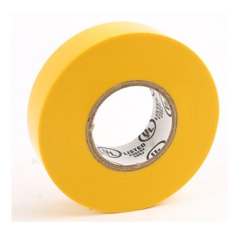 Yellow PVC Electrical Insulating Tape- 60 Feet