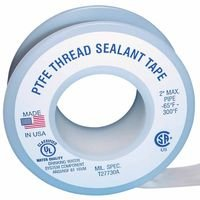 Thread Seal Tapes, 1,296 in L X 1/2 in W
