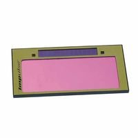 """Welding Cartridges Crystal Lens with Plastic Body, 2"""" x 4"""" Shade 10"""