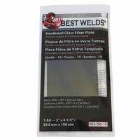 Shade No.8 Hardened Glass Green Filter Plates