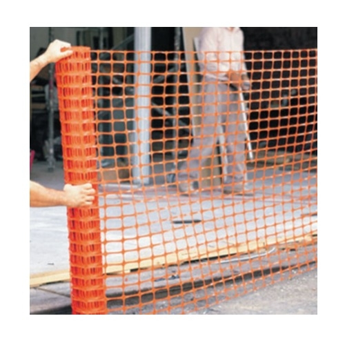 4-ft X 100-ft Polyethylene Safety Fence, Orange