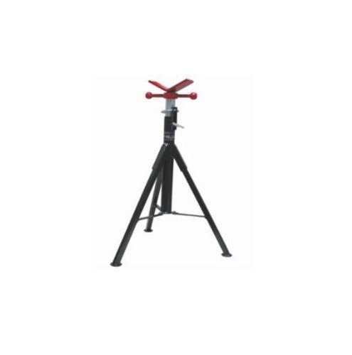 V-head 1.5 Inch Pipe Folding Pipe Stand With 25000 Pound Cap