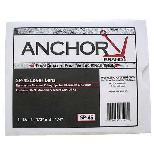 Cover Lens, 4.5X 5.25, CR-39