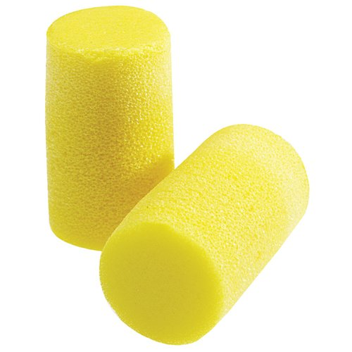 Yellow Uncorded Classic Plus Foam Earplugs