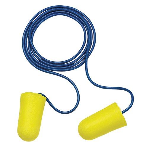 Regular Yellow TaperFit 2 Foam Corded Earplugs