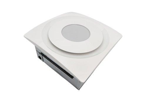 Aero Pure 33w Slim Fit Bathroom Ceiling Amp Wall Fan W Light