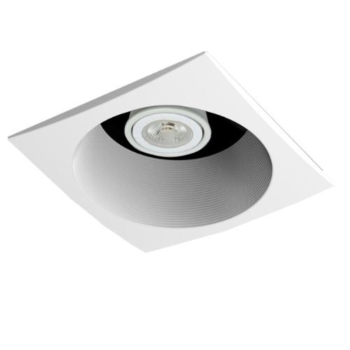 Aero Pure 20w Bathroom Fan W Recessed Light Square Trim 80 Cfm