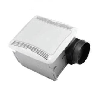 Aero Pure Low Profile 70 Cfm With Light Contractor 6 Pack