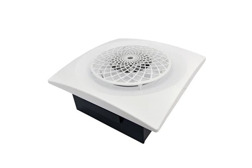 aero pure cyl400srw quick and easy replacement bathroom extractor fan with cyclonic technology and decorative white grille - Bathroom Extractor Fan