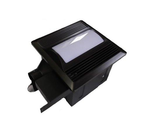 Oil Rubbed Bronze 29w Super Quiet Bathroom Fan With Night Light