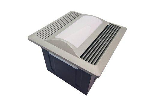 Aero Pure Satin Nickel 29W Super Quiet Bathroom Fan With