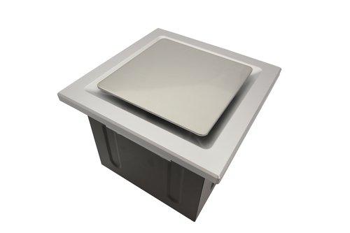 Aero Pure A515A W 2Bulb Quiet Bathroom Heater Fan with