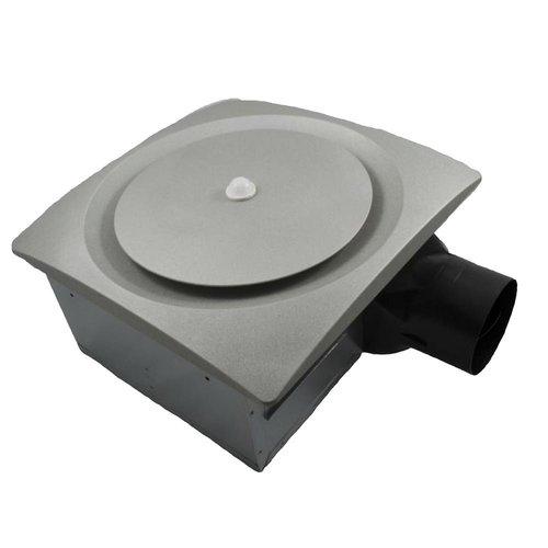 11W Nickel Slim Fit Bathroom Fan with Sensor