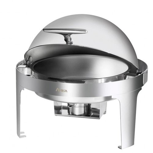 Round 6 Qt Roll Top Chafing Dish