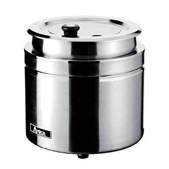 Electric Stainless Steel Soup Kettle, 800 Watts