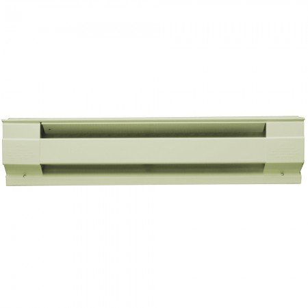 Electric Baseboard, 2-Feet, 240 V, 350W, Almond