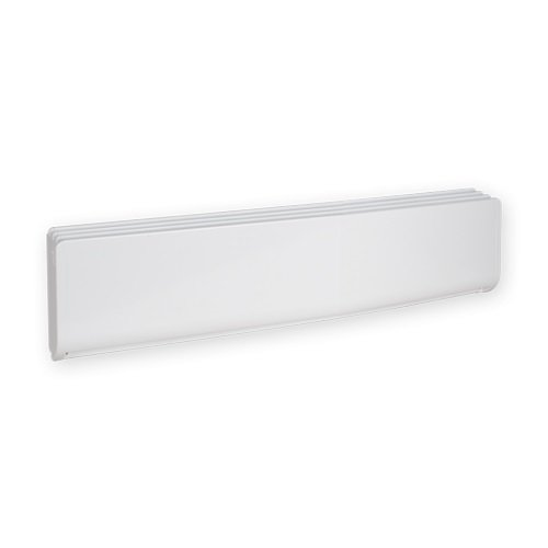 High-End Bella Baseboard Heater, 500W, Standard Density, White