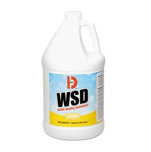 Big D Lemon Water-Soluble Deodorant, 1 Gal