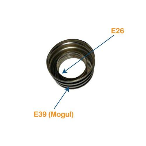 E26 Socket to E39 Mogul Lamp Base Adaptor