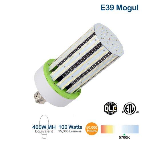 5700K 100W 20000 Lumen IP60 Rated Corn Bulb LED Light