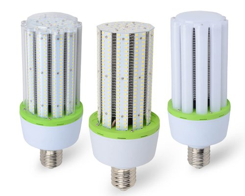 4000K 60W 7800 Lumen IP60 Rated No Cover LED Corn Bulbs