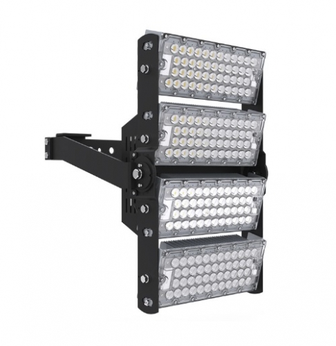 BrightStar LFL-074L-50K-V 480W LED High Mast Stadium Light, 74400 Lumens, 1000W MH Equivalent