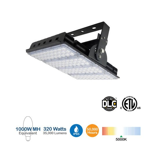 320W LED High Bay Light, 41000 Lumens, 5000K, 1000W MH Equivalent