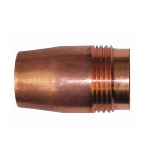 MIG Gun Nozzle,1/2 Inch Bore, Flush