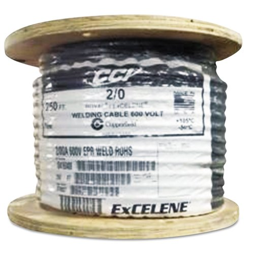 250 ft welding cable with foot markings 40 awg