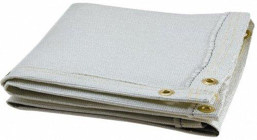 White Fiberglass Welding Blanket, 8 ft. x 6 ft.