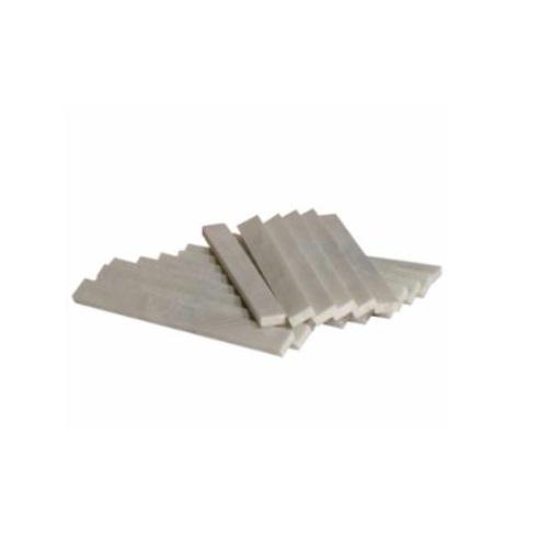 """5 x .5"""" Flat Soapstone, Thin"""