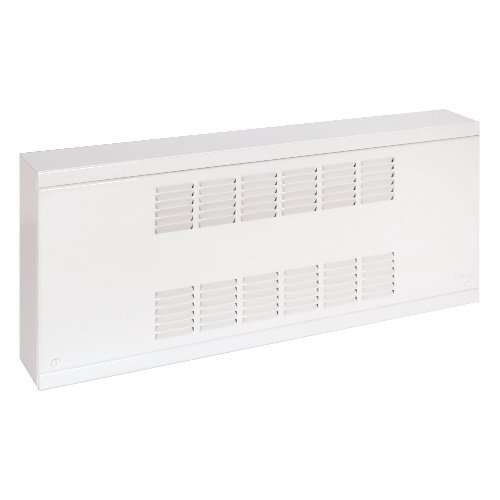 800W Commercial Baseboard, 240 V, Medium Density, Silica White