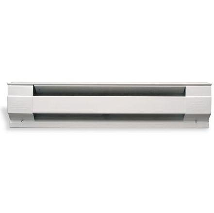 2500W 10' Electric Baseboard Heater, White