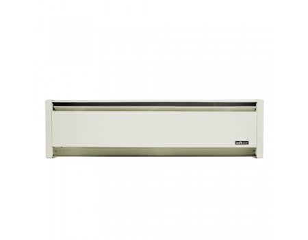 """750W 83"""" Hydronic Electric Baseboard, White Sand, Right Hand Wired"""