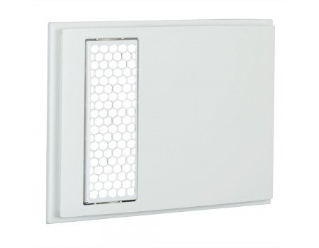 Apex 72 Metal Hexagonal Outlet Grill Only for Wall Heater
