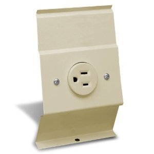 BRF12 Receptacle Plate, Almond
