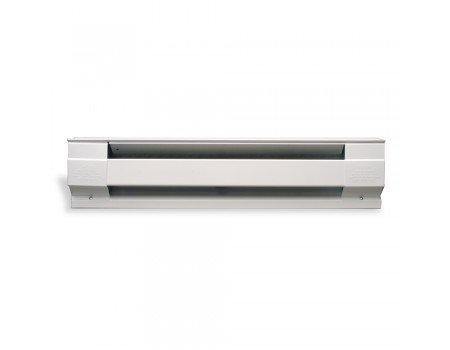 White, 208V, 2000W Electric Baseboard Heater, 8-Feet