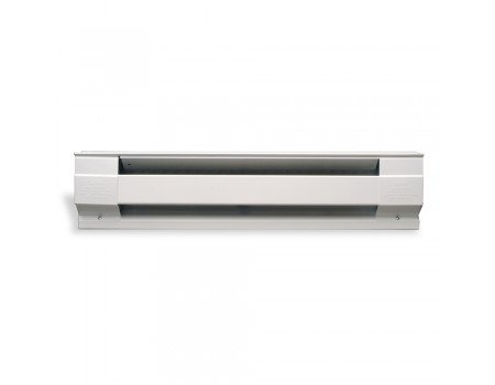 2000W Electric Baseboard Heater, 8-Feet, 208V/240V, White