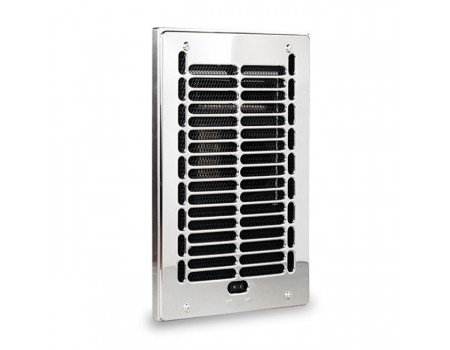 RBF 1000W Bathroom Wall Fan Heater Assembly and Grill, 120V
