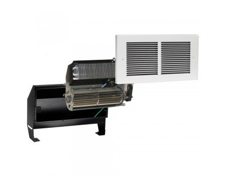 Register Wall Heater, Complete Unit, 2000 Watts at 240V, White
