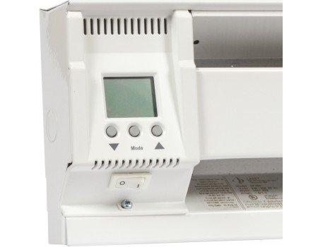 Smart-Base Programmable Thermostat for Electric Baseboard, Double Pole