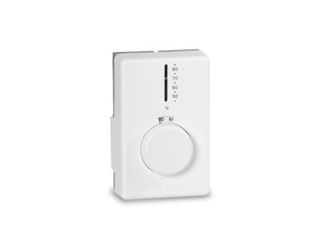 Dual Diaphragm Wall Mount Thermostat, Double Pole
