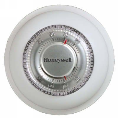 The Round 24V Wall Mounted Thermostat, Mercury Free