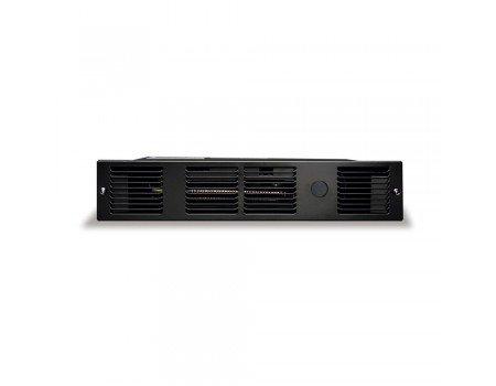 208V/240V, 1000W Perfectoe Kickspace Wall Heater, Black