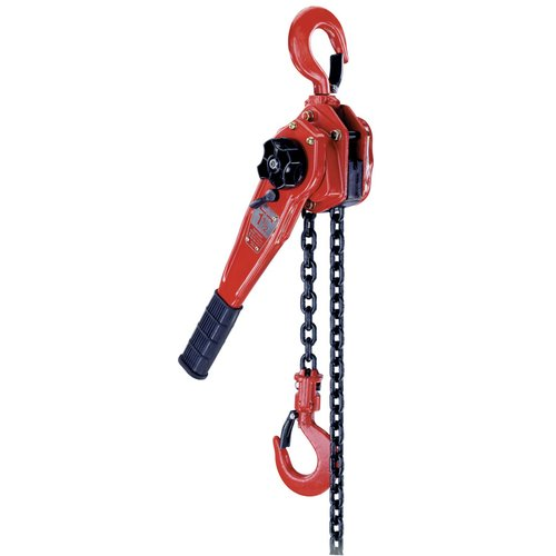 Steel Ratchet Lever Hoists with Mounting Hooks
