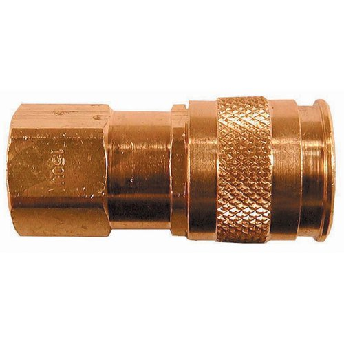 "1/4"" Coilflow U Series Automatic Universal Couplers"
