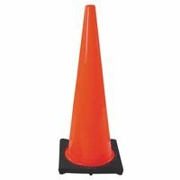 "Cortina PVC Traffic Cone, 18"", Orange"