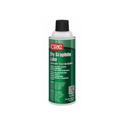 16oz Dry Graphite Lube, Aerosol Can, Black